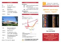 Rencontre régionale Besançon 2018